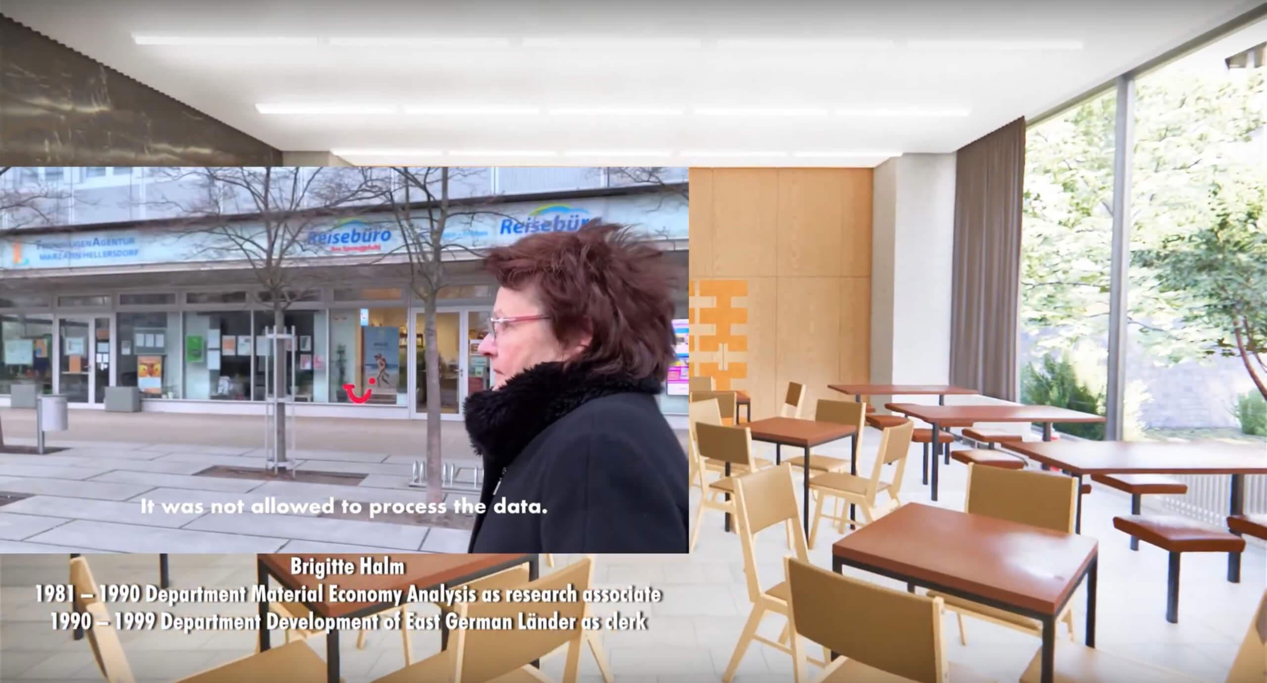 HdS-Ausstellung_Statistiker sind die letzten Romantiker_April 2021_Kantine_Screenshot 2
