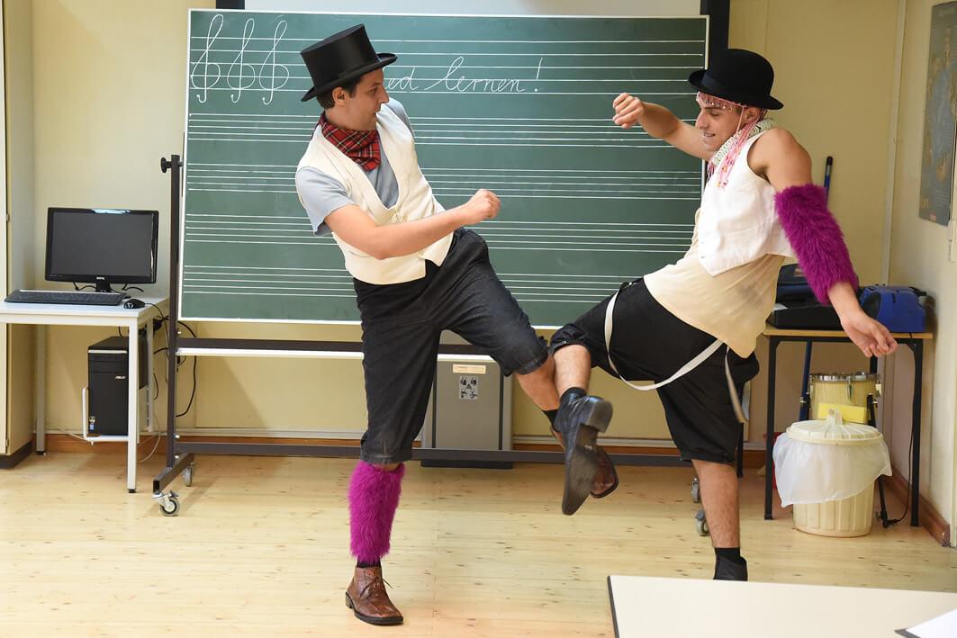 Dussel und Schussel von Ad de Bont Theater Naumburg
