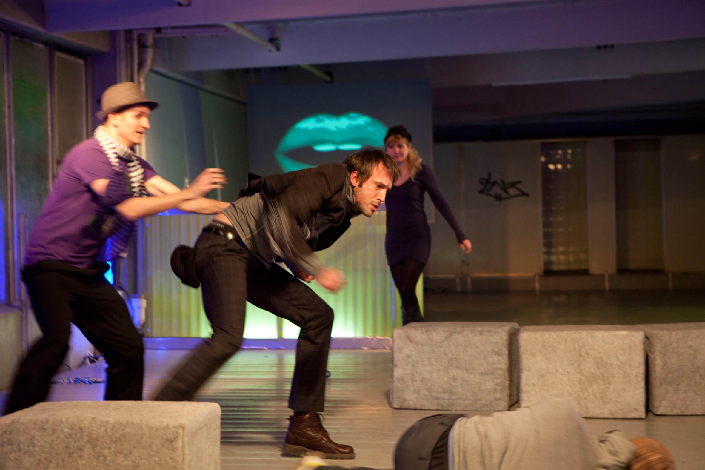 EPIC 3.0 Hubert Schipkowski 9. Festival für Neue Dramatik Theater München