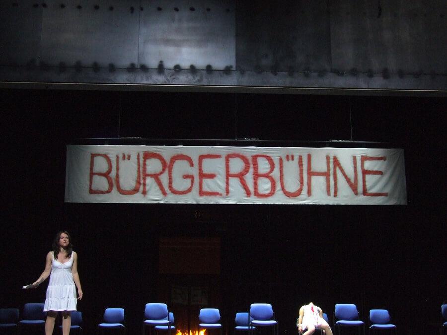Der arme Heinrich Eröffnungsspektakel Greizer Theaterherbst