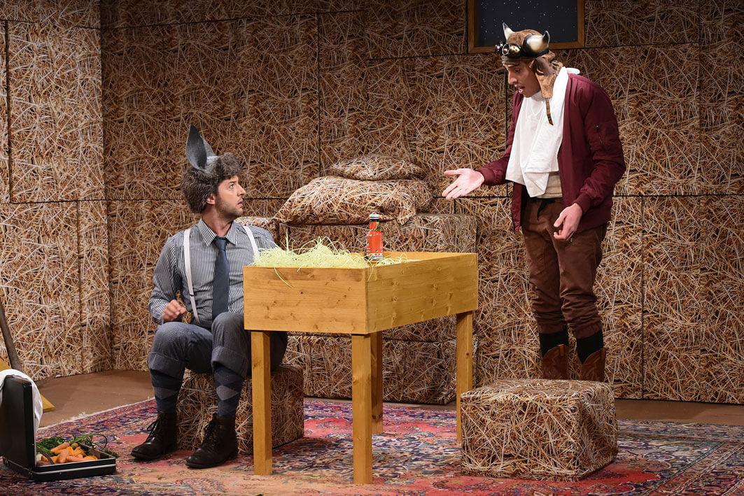 Ox und Esel von Norbert Ebel Theater Naumburg